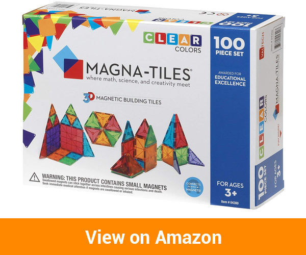 Valtech Company Magna-Tiles Clear Colours