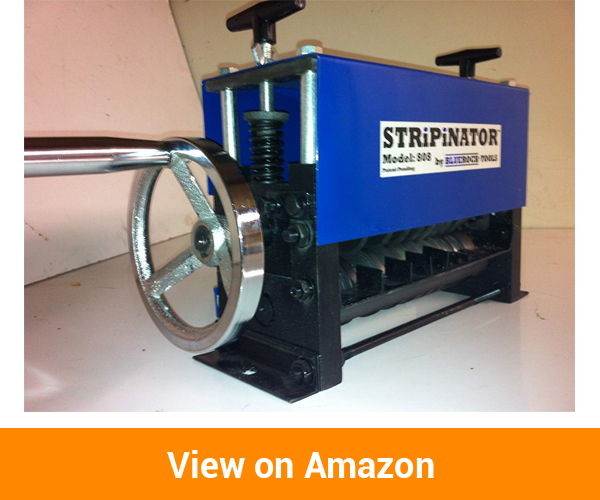 BLUEROCK STRiPiNATOR MWS-808 Wire Stripping Machine