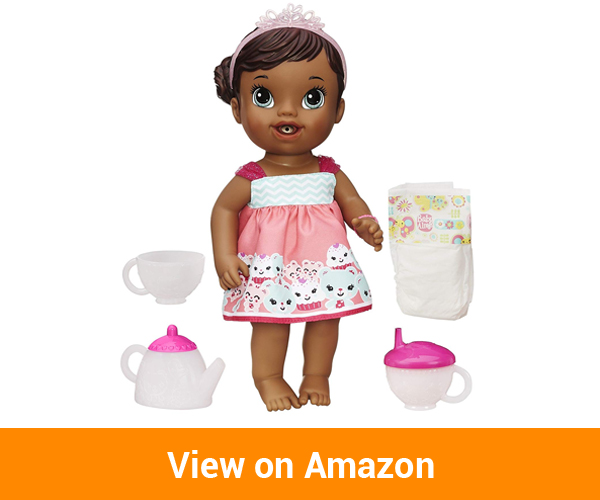 Baby Alive Lil' Sips Baby Has a Tea Party (African American)