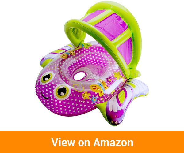 SwimSchool SSP10153 Bouncing Butterfly Boat