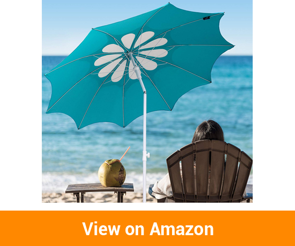 AMMSUN 2017 Heavy Duty Beach Umbrella