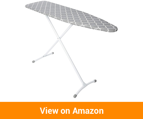 Homz Contour Steel Top Ironing Board