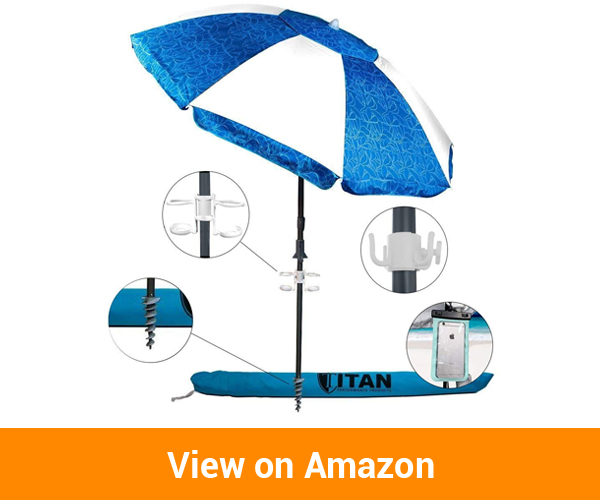 Titan Performance Products Beach Umbrella