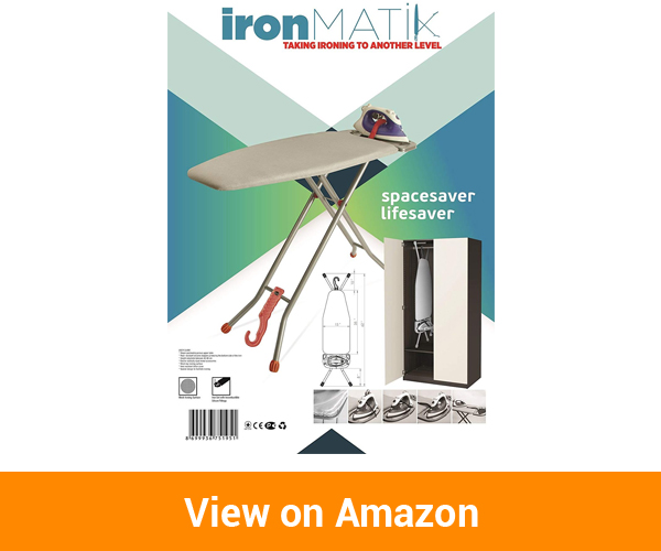 Ironmatik Space Saving Ironing Board