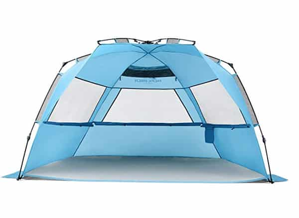 Pacific Breeze Easy Setup Beach Tent