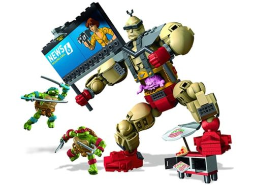 Mega Bloks Teenage Mutant Ninja Turtles Collectors Krang's Rampage