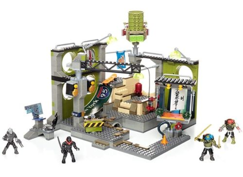 Mega Blocks Teenage Mutant Ninja Turtles Sewer Hideout Construction Set