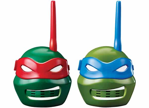 Teenage Mutant Ninja Turtles Character Walkie Talkies