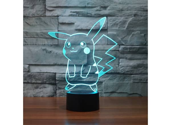 Pokémon Pikachu 3D LED Night Light