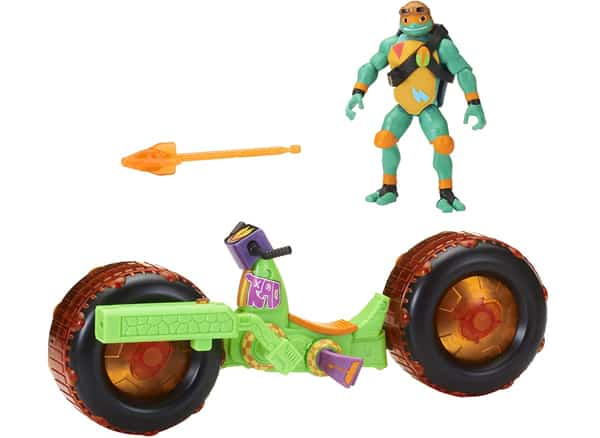Teenage Mutant Ninja Turtles Shell Hog with Michelangelo