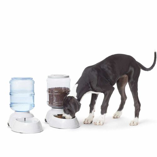 AmazonBasics Gravity Pet Feeder and Waterer