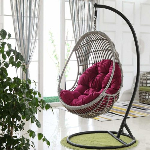 CC&DK Swing Hanging Egg Basket Seat