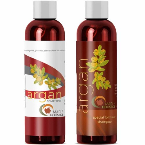 Maple Holistics Argan Oil Shampoo and Hair Conditioner