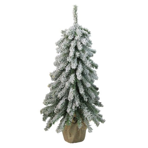 Northlight Flocked Downswept Mini Village Pine Tree