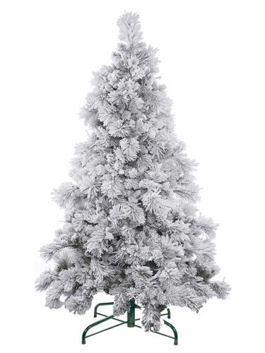 Qualitex Flocked Artificial Christmas Tree