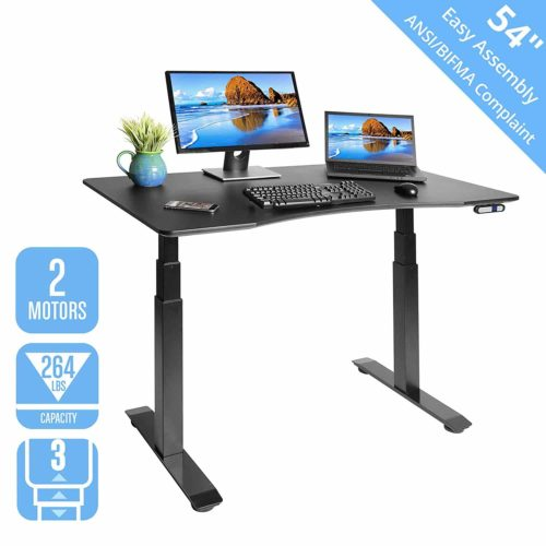 Seville Classics AIRLIFT S3 Electric Standing Desk Frame