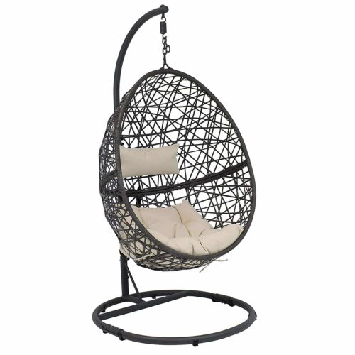 Sunnydaze Caroline Hanging Egg Chair