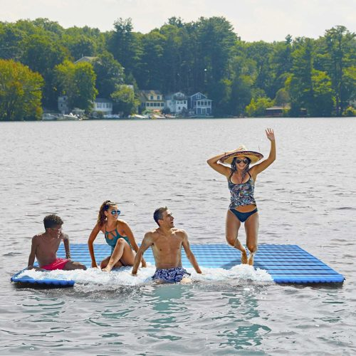 Aqua Inflatable Floating Pad