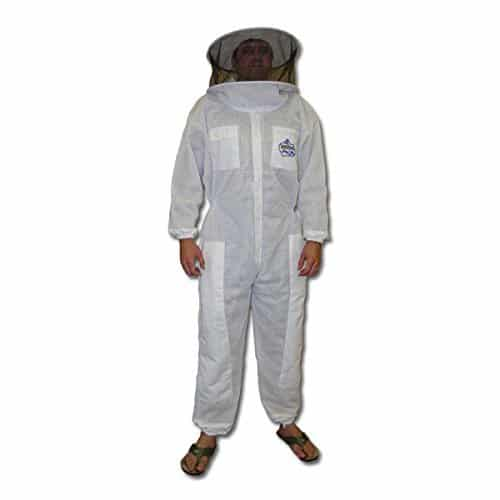 BeeKool Ventilated Beekeeper Full Suit with Round Veil