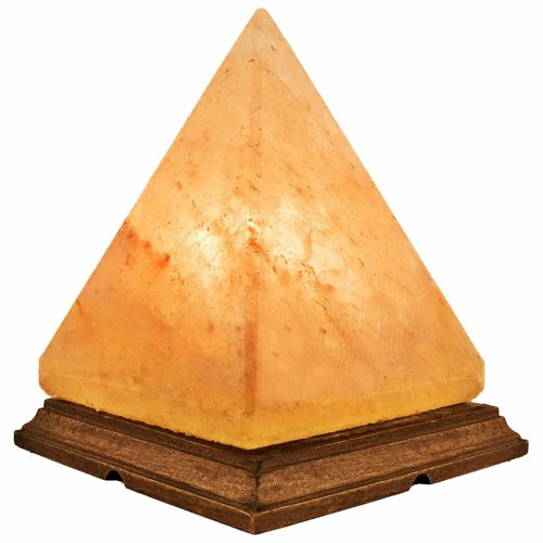 Crystal Allies Pyramid Himalayan Salt Lamp