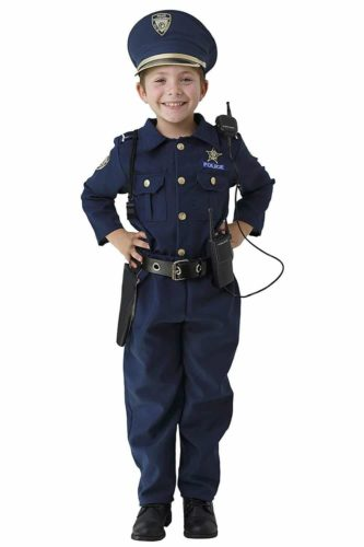 Dress up America Deluxe Police Dress up Costume