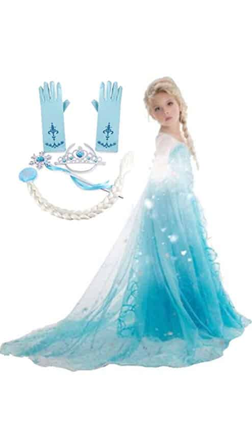 FashionModa4U Frozen Inspired Dress