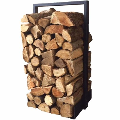 Firewood Log Rack for Home Fireplace
