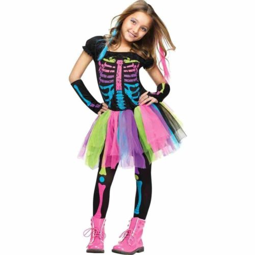 Fun World Funky Punky Bones Costume