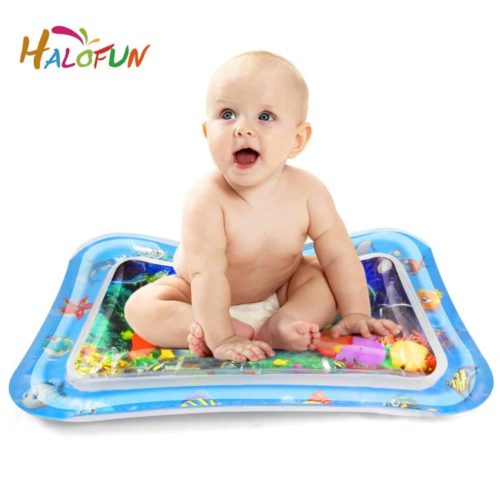 HALOFUN Inflatable Playmat Water Mat