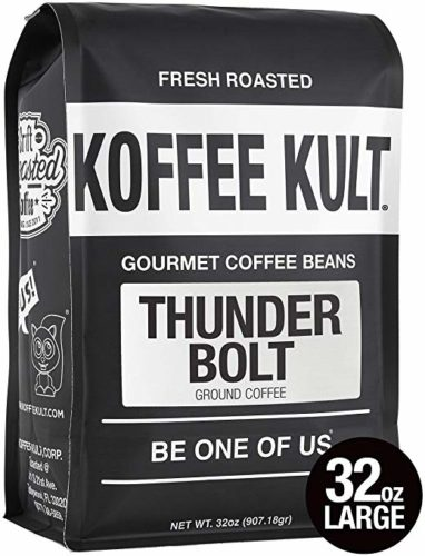 Koffee Kult Thunder Bolt Ground Coffee