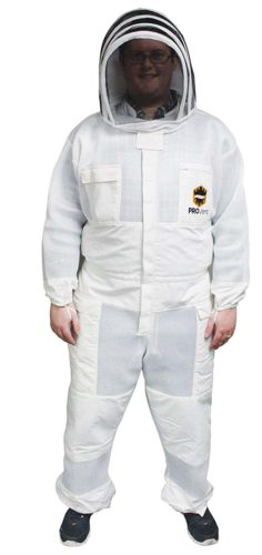 Mann Lake Provent Beekeeper Suit with Self Supporting Veil