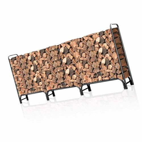 Outdoor Firewood Log Rack for Fireplace 12ft