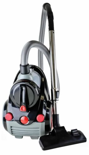 Ovente Bagless Canister Vacuum