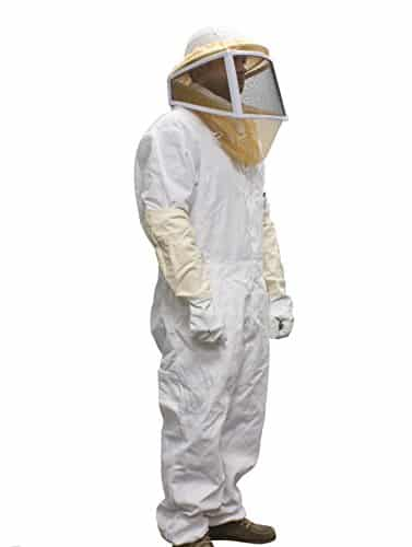 Beekeeper Beekeeping Full suit supreme quality cotton fencing veil M size