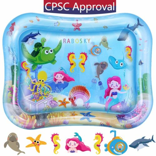 Rabosky Tummy Time Water Play Mat