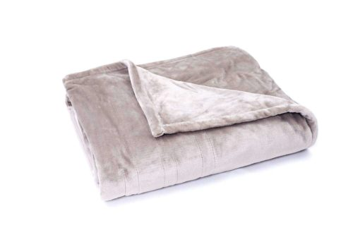 Tefici Washable Snuggle Heated Throw Blanket
