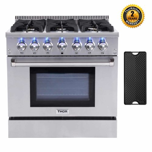 Thor Kitchen HRG3618U Gas Range