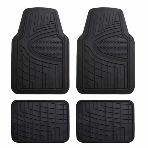 All Weather Heavy Duty Floor Mat Set Autotech Park Custom Fit Car Floor Mat Compatible with 2019-2020 Compatible withd Ranger SuperCrew