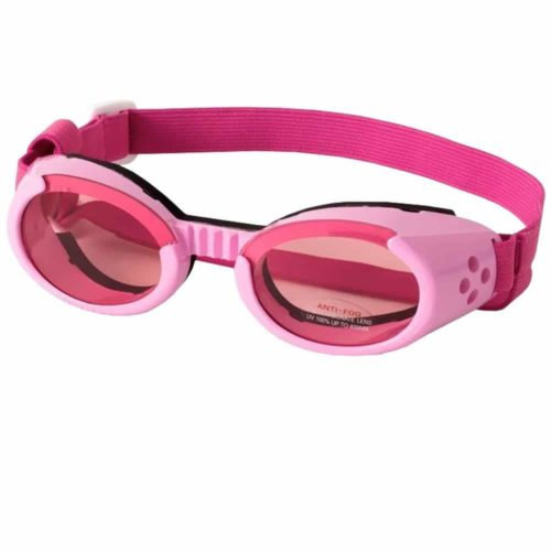 ILS Small Pink Frame and Pink Lens Doggles