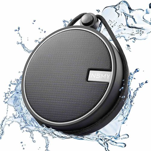 INSMY Portable IPX7 Bluetooth Speaker