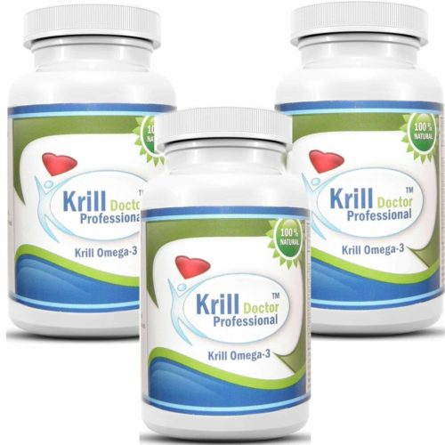 Krill Doctor Professional Antarctic Red Krill Oil