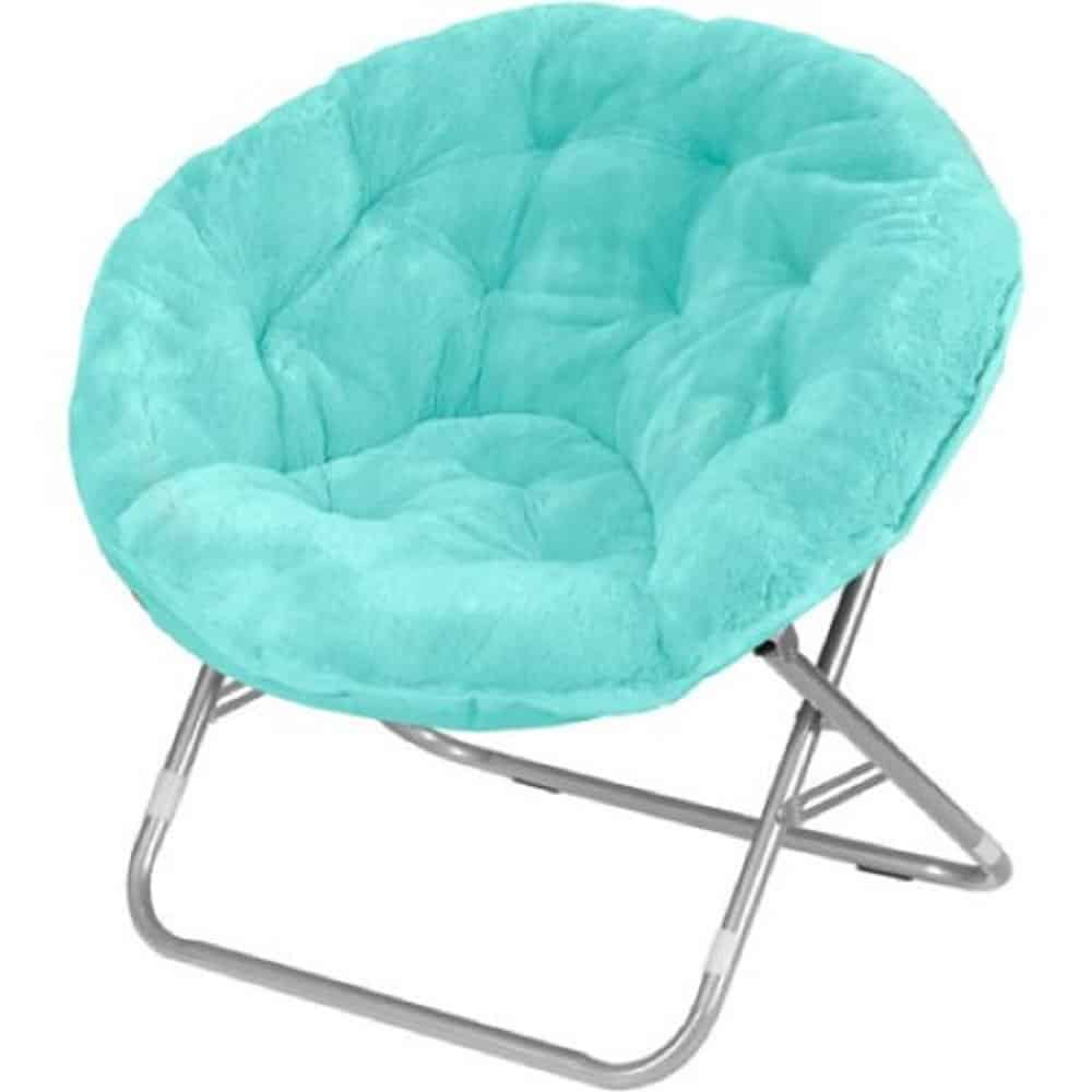 Mainstays Faux-Fur Saucer Chair