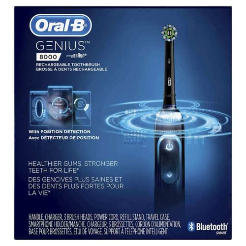 Oral B Genius Pro 8000 Electric Toothbrush