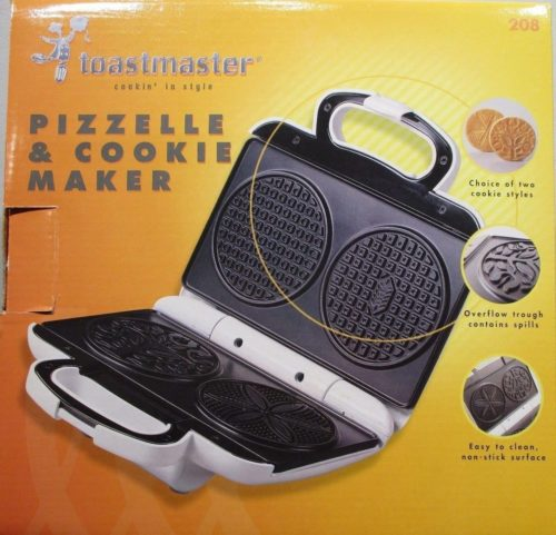 Toastmaster Cookie and Pizzelle Maker
