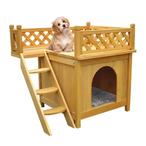 Bartfort Wooden Little Dog House