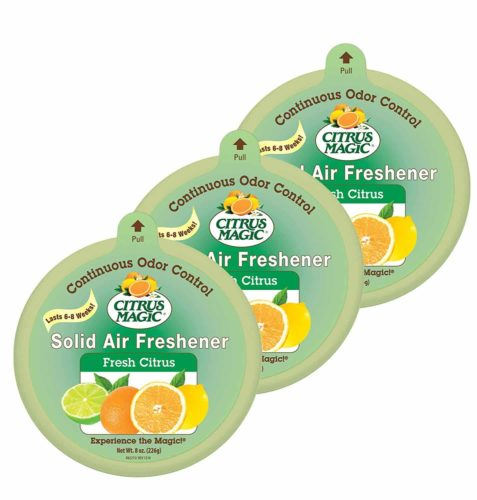 Citrus Magic Solid Air Freshener-3 Pack