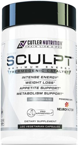 Cutler Nutrition SCULPT Fat Burner Diet Pills