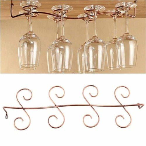 DBYAN Under Cabinet Wine Glass Rack