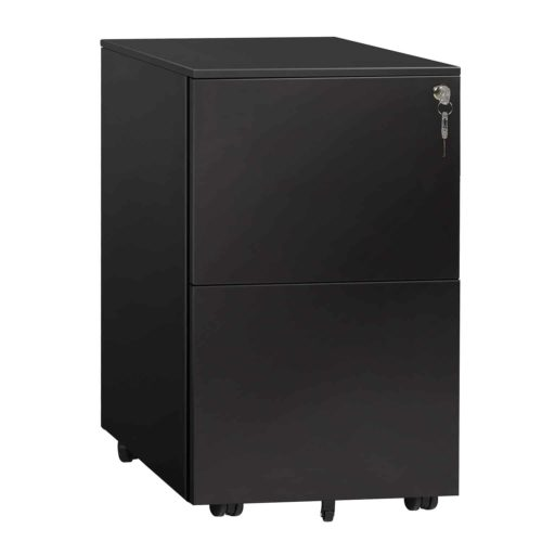 DEVAISE Locking File Cabinet