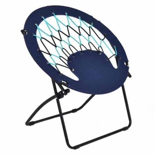 DreamHank Round Camping Folding Bungee Chair